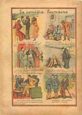 Piano Avocat Prisonnier Prison la Santé Mode de Paris Gendarme 1934 ILLUSTRATION