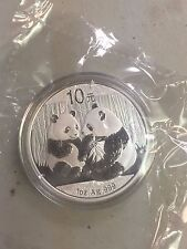 2009 CHINA SILVER PANDA 1 OZ 10 YUAN COIN