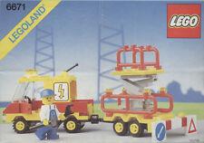 Lego Città    6671   Utility Repair Lift  (1989) Visita il mio Negozio