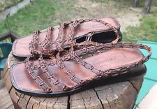 Cole Haan Resort Women's Brown Leather Sandal Size 6.5B US