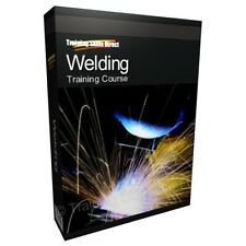 Learn Welding Welder Mask Arc Mig Tig Training Course Manual Guide