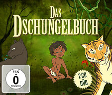 DVD CD Das Dschungelbuch Film und 2CD Hörbuch