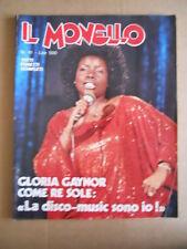 IL MONELLO n°41 1979 Gloria Gaynor - Inserto Speciale Ilona Staller  [G490]