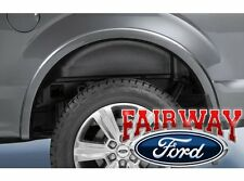 15 thru 16 F-150 OEM Genuine Ford Heavy Duty Rear Wheel Well House Liner Kit NEW