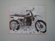 - RITAGLIO DI GIORNALE ANNO 1982 - MOTO MAICO MX 250