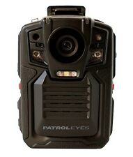 PatrolEyes SC-DV5 1080P HD 32GB Police Military Body Camera DVR w/ Built-in GPS