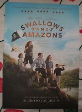 SWALLOWS AND AMAZONS POSTER Movie Cinema Film NEW Unfolded A3 Disney Pirate Book