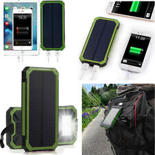 100000mAh Solar Power Bank USB Waterproof Charger Battery For Tablets Phone MP4