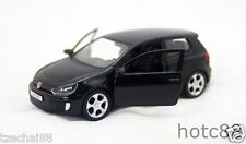 RMZ CITY DIECAST VOLKSWAGEN GOLF GTI BLACK Color Car 1:36 COLLECTION New Gifts
