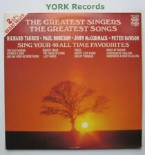 GREATEST SINGERS - THE GREATEST SONGS - Various - Ex Double LP Record MFP 1004