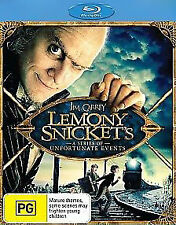 Lemony Snicket's - A Series Of Unfortunate Events (Blu-ray, 2012) New & Sealed