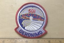 US Army 501st Airborne Infantry Regiment Embroidered Patch