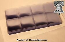 200 Frame A Coin Holders with Inserts 2x2 Submission Flips Double Pocket NON PVC