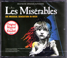 LES MISÉRABLES Deutsche Originalaufnahme 2CD Les Miserables German Version NEU