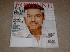 ROBERT DOWNEY JR * THE FUTURE ISSUE * QUALCOMM January 13 2014 FORTUNE MAGAZINE