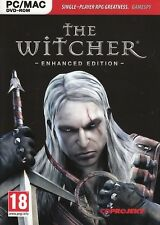 THE WITCHER ENHANCED EDITION for (PC DVD) SEALED NEW
