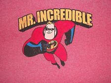 DISNEY The Incredible's Mr. Mister Incredible 2004 Movie Dvd Nice 2XL T-SHIRT