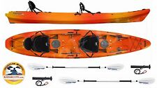 Wilderness Systems Tarpon 135 Tandem - Kayak City Paddle Package - Mango, 2016