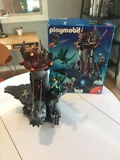 Retired PLAYMOBIL Green Dragon Knight's Castle 4836 Complete Set