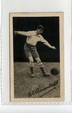 (Jc9201-100)  GEM,FOOTBALLERS-AUTO REAL ACTION,QUANTRILL,PRESTON,1922,#2
