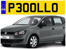 P300 LLO VW POLO VOLKSWAGEN POLO BLUEMOTION BEATS V W POLO PRIVATE NUMBER PLATE