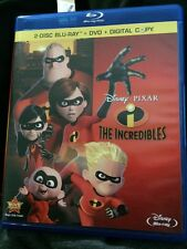 The Incredibles (Blu-ray/DVD, 2011, 4-Disc Set)