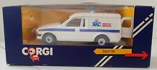 Vintage 1984 Corgi Ford Escort  RAC Rescue Service C532 in Original Box White