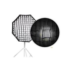 80cm /31.5in Octagon Umbrella Softbox Brolly Reflector for Speedlite Flash Light
