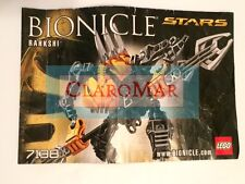 ☀️ LEGO Bionicle Rahkshi 7138 INSTRUCTION MANUAL Only Replacement