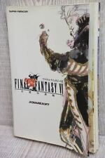 FINAL FANTASY VI 6 Basic Guide Book SFC NT00*