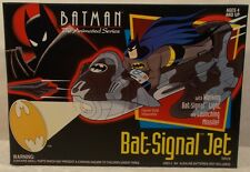 Batman The Animated Series Bat-Signal Jet With Light-Up Bat Signal Kenner (MIB)