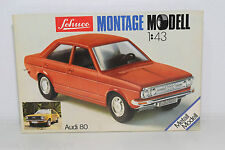SCHUCO 225 002 1/43 MONTAGE KIT SET AUDI 80 MINT BOXED SEALED RARE SELTEN