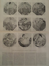 Robert Reid Art Congressional Library Washington DC 1896 Harper's Weekly
