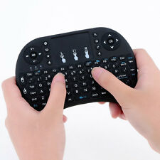 Mini 2.4G Wireless Touchpad Keyboard Air Mouse For PC Pad Android TV Box Black
