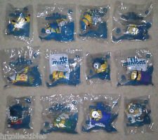 MCDONALDS 2015 MINIONS SET OF 12 talking toys Sealed- FREE SHIPPING