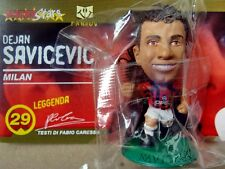 MS.19] DEJAN SAVICEVIC - MILAN - BASE VERDE, GREEN (MicroStars + Fanbuk)