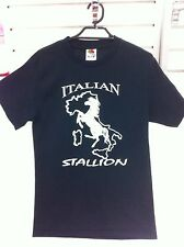 Italian Stallion Horse Shirt T-Shirt Novelty Small Stallions Clothing Funny New