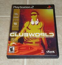 Sony Playstation 2 eJay Clubworld Complete PS2 RARE