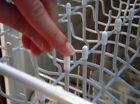 125 Universal White Dishwasher Rack Tip Tine Cover Caps   Just Push On to Repair