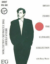 Bryan Ferry Roxy Music ‎The Ultimate Collection  CASSETTE ALBUM Virgin France