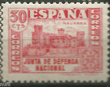 Spain  Edifil # 808 * MH Junta de Defensa