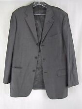 Oviesse Venezia Business Men's Suit 2 Piece 2 Button Black/Gray Classic Fit   S3