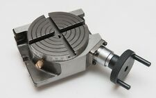 """Rotary Table Horizontal & Vertical 4"""" / 100mm For Milling Machine - New"""