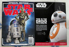 STAR WARS Insider SPECIAL EDITION Magazine 2016 Issue R2D2 & C3PO 148 Pages NEW