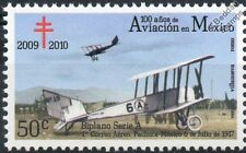 1917 TNCA Series A 6A19 Airmail Aircraft Stamp (100 Years of Aviation in Mexico)