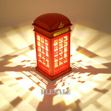 Desk Night Light Bed Led Lamp British Phone Booth Touch Panel Usb Rechargable