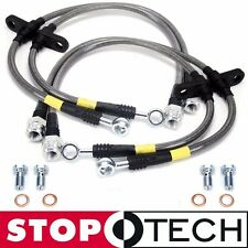 StopTech Stainless Steel Braided Brake Lines - Front Rear (96-00 Honda Civic) EK