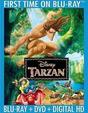 TARZAN (Blu-ray/DVD/Digital HD Copy, 2014, 2-Disc Set, Special Edition) - New