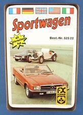 Quartett - Sportwagen - FX Schmid - Nr. 52522 - von 1974 - Auto Kartenspiel 1