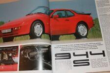 Christophorus Nr. 201/1986 Mehrleistung! Porsche 944 S mit 190PS im Fahrbericht
